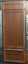 Sub Zero BI30U O 30  Built In Over and Under Refrigerator Freezer   Panel Ready
