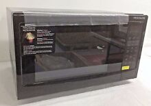 Frigidaire 1 6 Cu Ft 1100W Countertop Stainless Digital Microwave Oven  Black