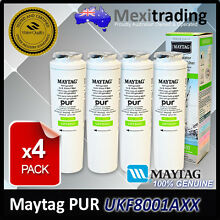 4 x Amana Maytag PuriClean II UKF8001AXX UKF8001 Fridge Filter GENUINE ONLY