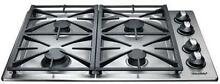 Dacor Renaissance RGC304SNG 30 Inch 4 Sealed Burners Gas Cooktop Stainless
