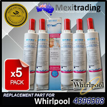5x Whirlpool  4396508 Replacement  Water  Ice make  Filter