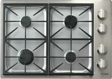 Dacor Discovery 30 Inch SS 18 000 BTU 4 Sealed Burners Gas Cooktop DYCT304G