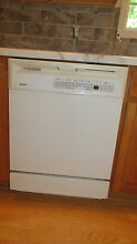 Dishwasher   White Kenmore  standard size  excellent condition