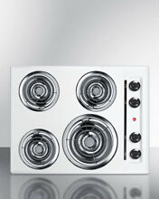 Summit Appliance Summit 24  Electric Cooktop with 4 Burners