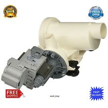 SUPCO Drain Pump for Whirlpool 280187 Complete Pump Motor Assembly Duet Washers