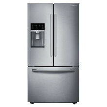 Samsung Appliances 36    28 1 Cu  Ft  French Door Refrigerator RF28HFEDBSR