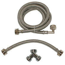 72  1500 PSI Steam Dryer Installation Kit Home Appliance Connector Hook Up Hose