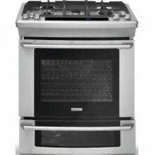 Electrolux Wave Touch EW30GS75KS 30  Slide in Gas Range