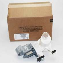 WPW10730972 For Whirlpool Washing Machine Drain Pump