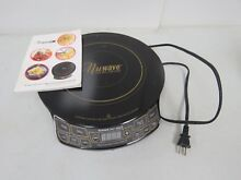 NUWAVE PIC PRECISION INDUCTION COOKTOP GOLD MODEL 30201 2398C