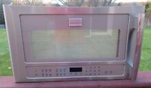 Frigidaire Model FPBM189KFC Professional Microwave Door Assembly