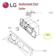 LG  GENUINE  WASHING  MACHINE   PART     EBR74143699 PCB DISPLAY