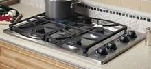 Dacor 30  4 Burner Smart Flame Stainless Steel Natural Gas Cooktop PGM3041SNG