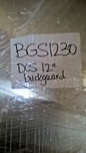 DCS BGS 1230  RANGE  BACK GUARD 12   X 30   STAINLESS STEEL