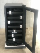 NEW Vinotemp 33 Bottle Wine Cooler with Touch Screen Temperature Controls  Black