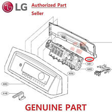 LG  GENUINE  WASHING MACHINE PART     EBR75234204  PCB DISPLAY