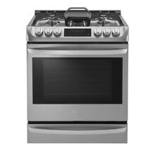 LG Electronics 6 3 cu  ft  Slide In Gas Range Model LSG4513ST