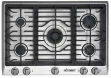 DACOR Distinctive 30  5 Sealed Burners SimmerSear SS Gas Cooktop DCT305SNG