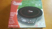 Nuwave Precision Induction Cooktop Black Model  30121 New In Box