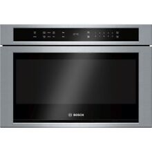 Bosch HMD8451UC 800 24  Stainless Steel Microwave Drawer
