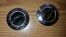 Vintage  GE General Electric Range Stove Oven Thermostat Knobs   2 Knobs    3 1