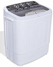 Top Load Washer and Spin Dryer Combo Portable Mini 13lbs Stackable Machine New