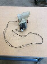 WHIRLPOOL WASHING MACHINE MODEL WFW9400SU00 DRAIN PUMP WITH WIRING HARNESS