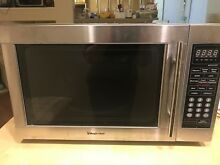 Magic Chef MCM1110ST 1000 Watt Microwave Oven