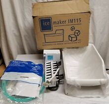 New  in Box   Electrolux  White Westinghouse   IM115 Ice Maker Kit   UN Tested