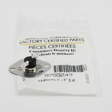 WP9759243 For Whirlpool Range Stove Oven Thermal Fuse