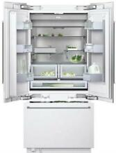 Gaggenau 36  19 5 cu  ft LED Lighting Built in French Door Refrigerator RY492701