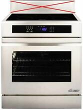 DACOR Renaissance 30 Inch 4 Induction Elements Slide in Electric Range RNR30NIFS