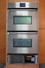 30  Intelligent Oven TMIO PS302SS Double Wall Oven with built in Refrigeration
