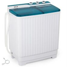 Top Load Washer and Spin Dryer Combo Portable Mini 27lbs Stackable Machine New