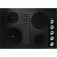 New KitchenAid Black Built in Electric Cooktop 30  Model  KECD807XBL