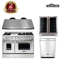 Thor Kitchen 48  Gas Range 48  Range Hood  Dishwasher  24  Wine Cooler Cooktop