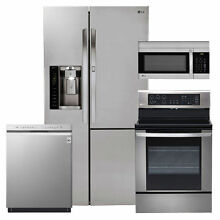 LG Side by Side Refrigerator with Door in Door    Stainless Steel  NEW