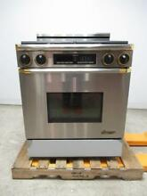 Dacor 30  4 Burner Gold Accent Gas Range EGR30SO6BR