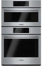 BOSCH 800 Series 30  10 Cooking Program SS Microwave Combination Oven HBL87M52UC
