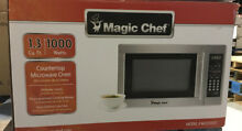 Magic Chef MCD1310ST 1 3 cu  ft  Countertop Microwave in Stainless Steel New