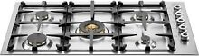 Bertazzoni QB36500X Professional Series 36  Gas Cooktop in Stainless Steel