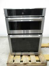 Jenn Air 30  Stainless Full Color Menu Combination Microwave Electric JMW2430DP