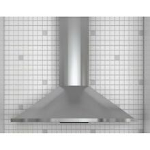 Zephyr ZSA M90CS 36  Curved Wall Mount Chimney Hood in Stainless Steel