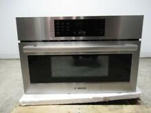 Bosch 30  10 Levels Stainless Speed Oven Warming Drawer Combination HMC80251UC