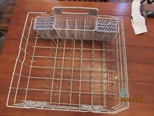 Kenmore Elite Dishwasher W10728159 Bottom Rolling Rack   Silverware Basket