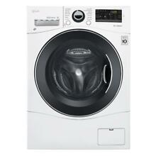 LG WM3477HW White All in One Washer Dryer      New