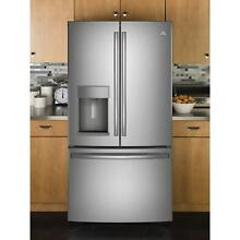 GE Appliances Energy Star 27 8 Cubic Foot French Door Refrigerator