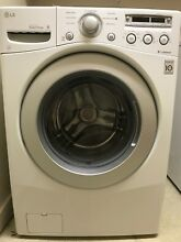 Lg washer and dryer  half white  front load  excellent condition