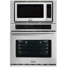 Frigidaire Gallery 27  Electric Wall Oven And Microwave Combination FGMC2765PF