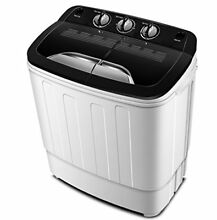 Portable Washing Machine TG23 Twin Tub Washer with Wash and Spin Cycle by Dryers